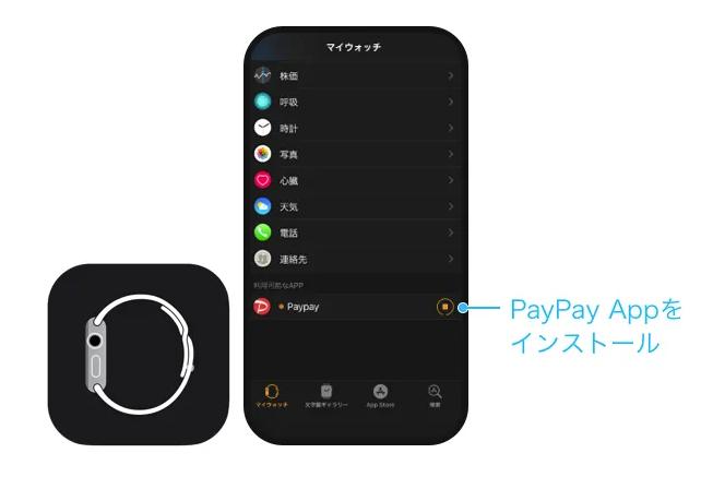 paypay アップル ウォッチ