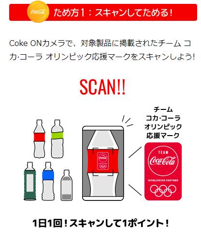 コカコーラ オリンピック チケット